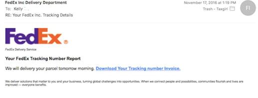 FedEx Email Scam