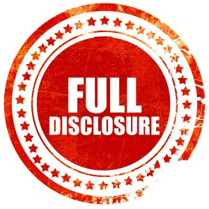 red stamp that says Full Disclosure - reference to disclosure under OVDP in 2016