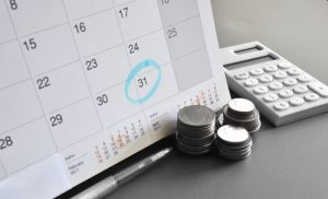 calendar of IRS payment plan