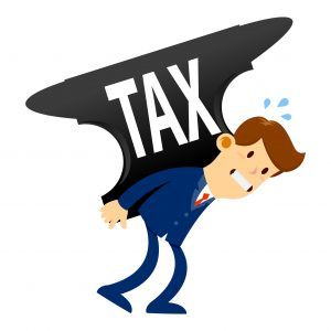 Tax problems weighing down