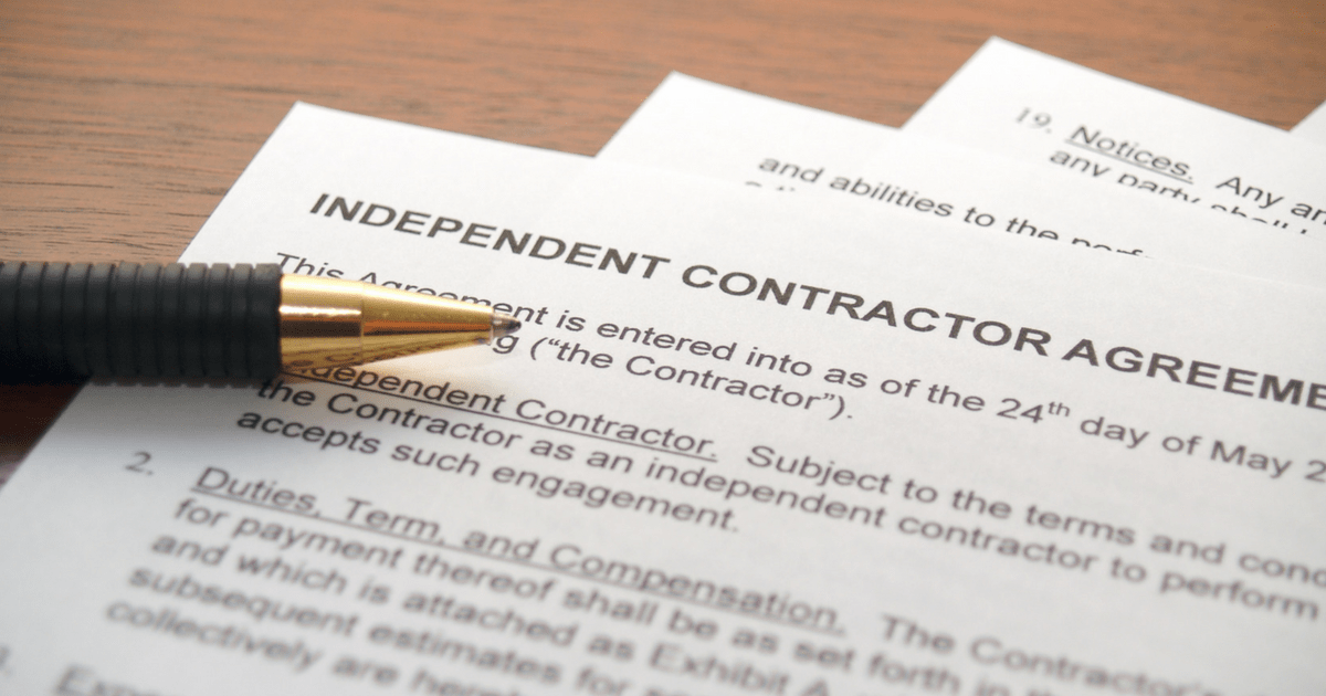 What Does Being An Independent Contractor Mean For Your Taxes