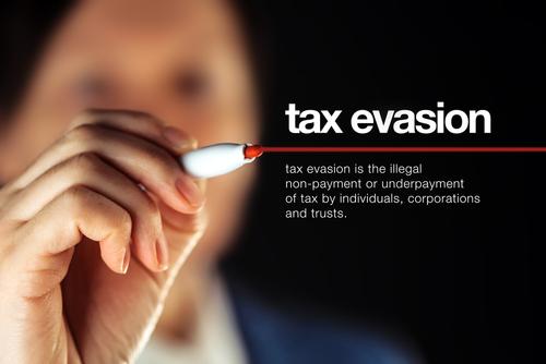 tax evasion statute