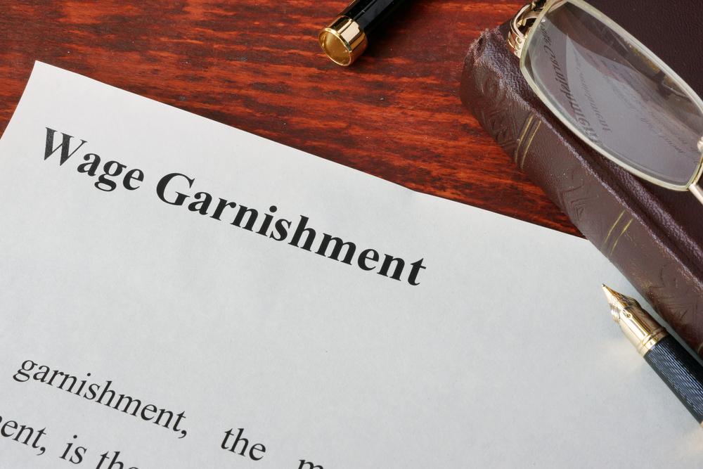 Avoiding wage garnishment