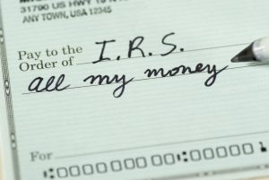 IRS tax levy
