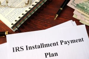 IRS installment agreement default