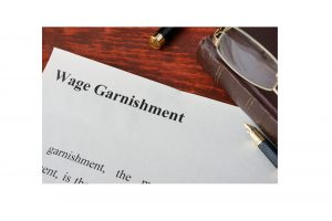 wage garnishment removal