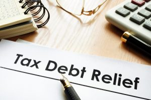 IRS tax debt relief