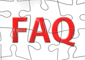 "Word ""FAQ"" over a puzzle"