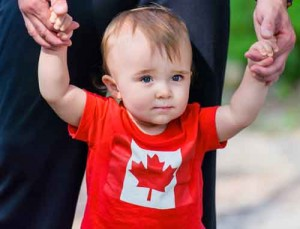Baby in Canadian t-shirt is surprised to get FATCA letter