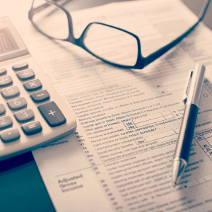 Underpayment of an estimated IRS tax bill